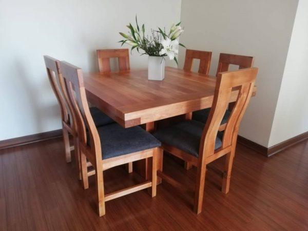 Comedor 8 sillas fabio b
